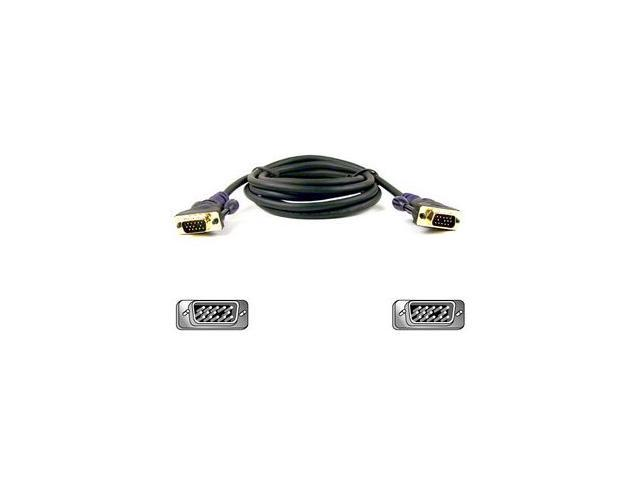Belkin F2N028-06-GLD 6 ft. Gold Series HD-15 to HD-15 M/M Cable