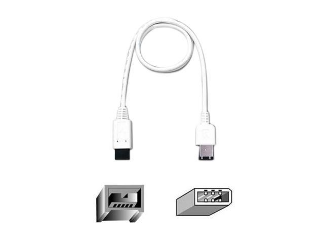 Belkin F3N404-06-APL 6 ft. 9-Pin to 6-Pin FireWire 800/400 Cable M-M