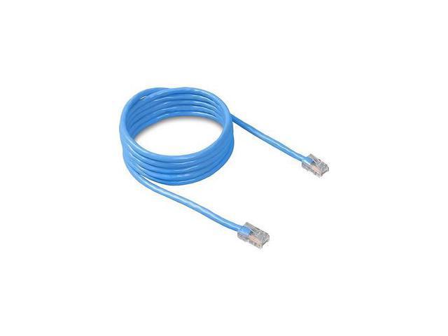 BELKIN A3L781-01-BLU 1 ft. Cat 5E Blue Patch Cable CAT5e RJ-45M / RJ-45M