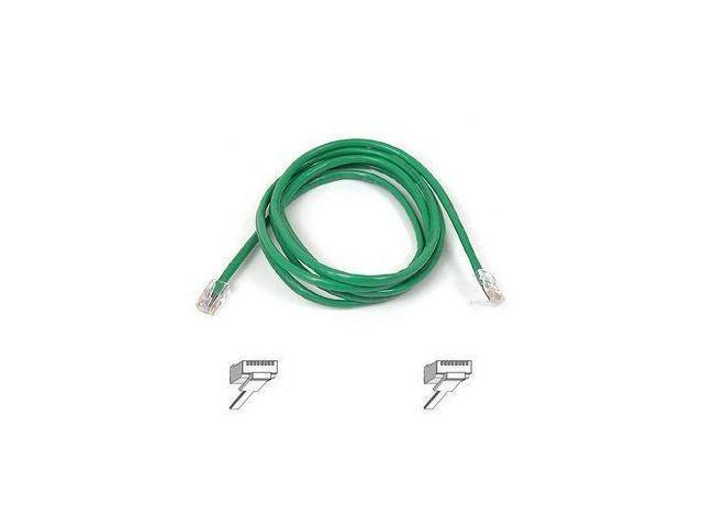 BELKIN A3L791-01-GRN 1 ft. Cat 5E Green Shielded Patch Cable CAT5e RJ-45M / RJ-45M