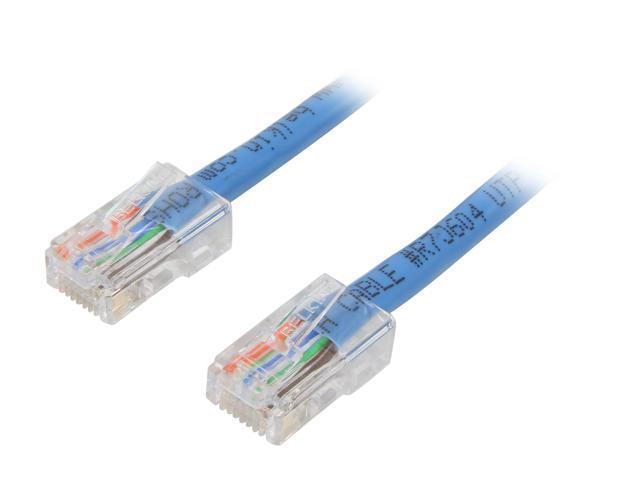 BELKIN A3L791-01-BLU 1 ft. Cat 5E Blue Patch Cable