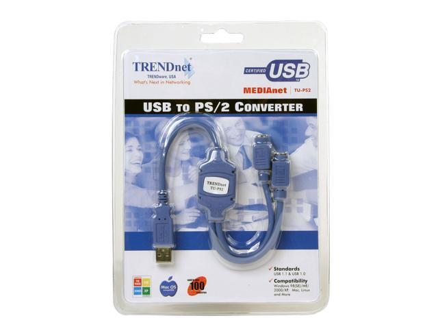 TRENDnet TU-PS2 USB to PS/2 Converter