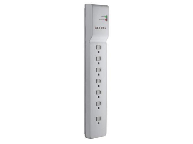 BELKIN BE10700006-CM 6 ft 7 Outlets 750 J Surge Suppressor
