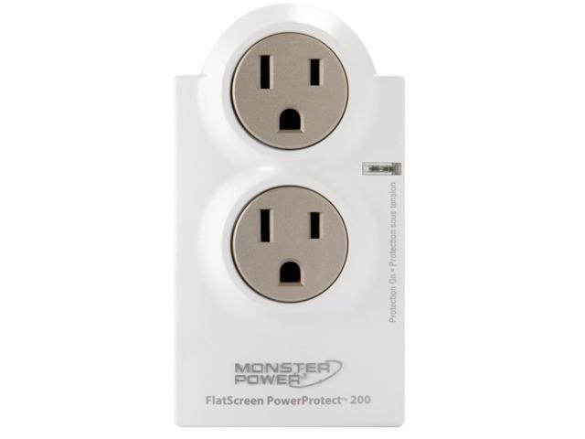 MONSTER FS MP AVFL200 EF 2 Outlets 1110 joule FlatScreen PowerProtect 200 (French/English)