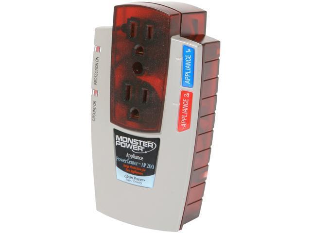MONSTER 121507-00 2 Outlets 1110 J PowerCenter Surge Suppressor