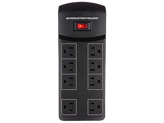 MONSTER 121821-00 (MP ME 800) 4' 8 Outlets 1080 joules Essentials 800 Surge Suppressor