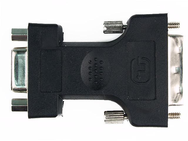 Rosewill RCW-700 DVI-I ( 24+5 ) Male to VGA HD15 Female Adapter