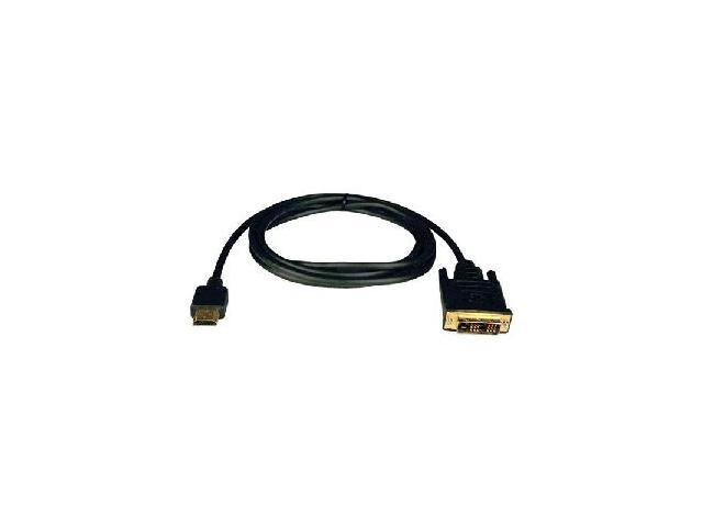 Tripp Lite P566-006 6 ft. Black HDMI To DVI Cable