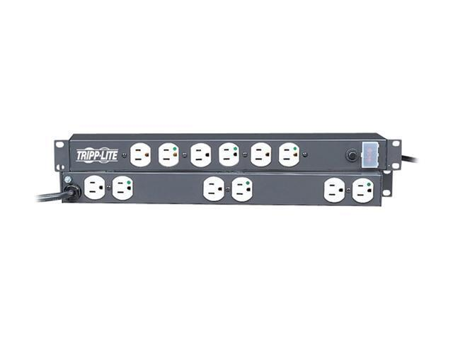 Tripp Lite RS-1215-HG Power Strip 1U 120V 15A 15 ft PDU
