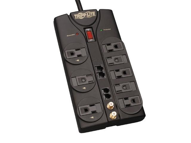 TRIPP LITE TLP810NET 10 Feet 8 Outlets 3240 joules Surge Suppressor
