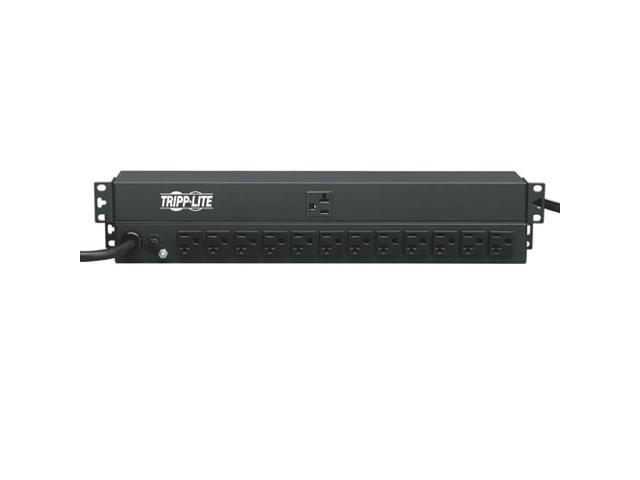 Tripp Lite PDU1220T Basic 1U 120V 15 ft. PDU