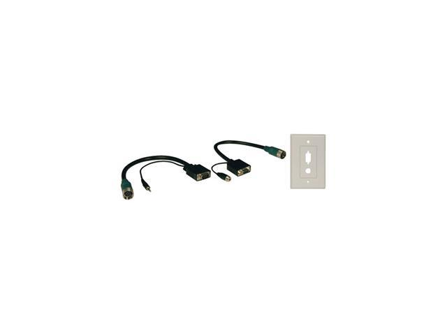 Tripp Lite EZA-VGAAX-2 Easy Pull Type-A Connectors - M/F set of VGA with Audio and Faceplate