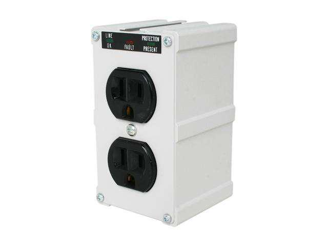 TRIPP LITE ISOBLOK2-0 Direct Plug-in 2 Outlets 1410 Joules Isobar Surge Suppressor