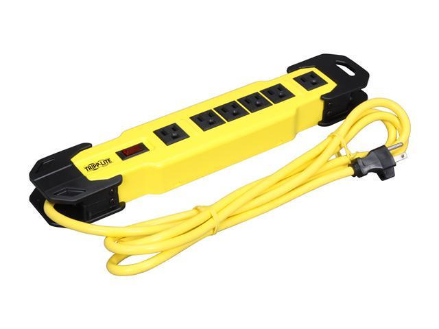 Tripp Lite TLM609NS Power It! Safety Power Strip with 6 Outlets, 9-ft. Cord and Integrated Cord Wrap