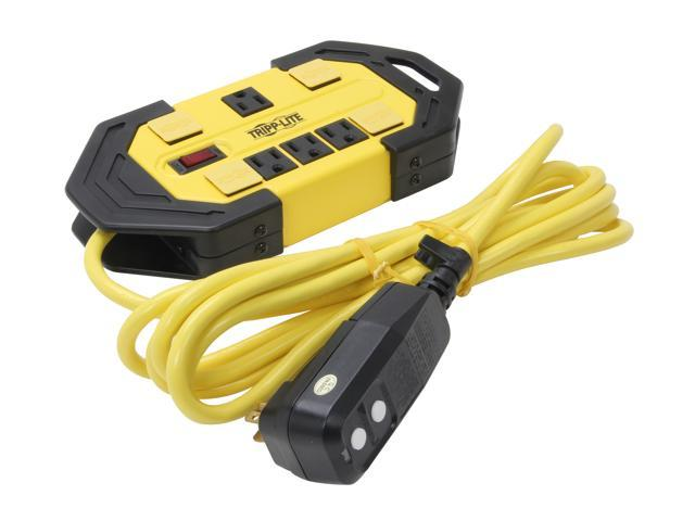 Gfci power strip wet