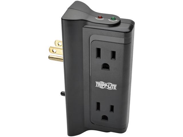 TRIPP LITE TLP4BK Direct plug-in 4 Outlets 720 Joules Protect It! Surge Suppressor