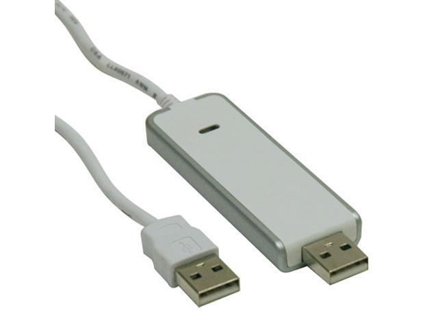 Tripp Lite U233-006-MP-R 6 ft. White PC/MAC Easy File Transfer Cable