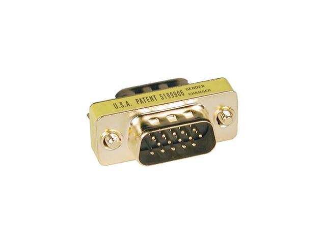 Tripp Lite P158-000 Compact Gold HD15 Gender Changer (HD15M/M)