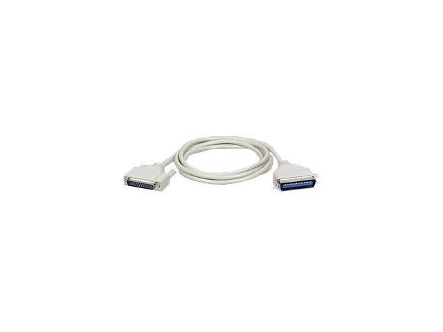 Tripp Lite Model P602-010 10 ft. DB25 Male to Centronics 36 Male Directional Parallel Printer Cable M-M