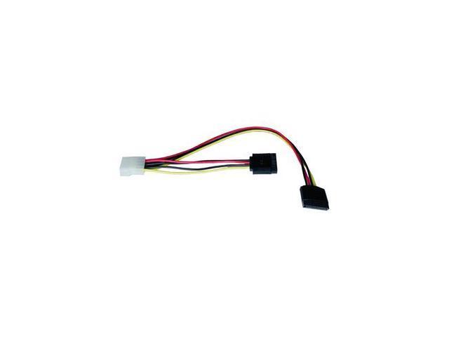 """Tripp Lite P946-12I 12"""" Serial ATA (SATA) Dual Power Adapter Cable (4pin/2x15pin SATA)"""