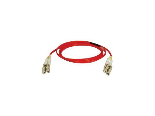Tripp Lite N320-02M-RD 6.56 ft. Red Duplex MMF 62.5/125 LC to LC Patch Cable M-M