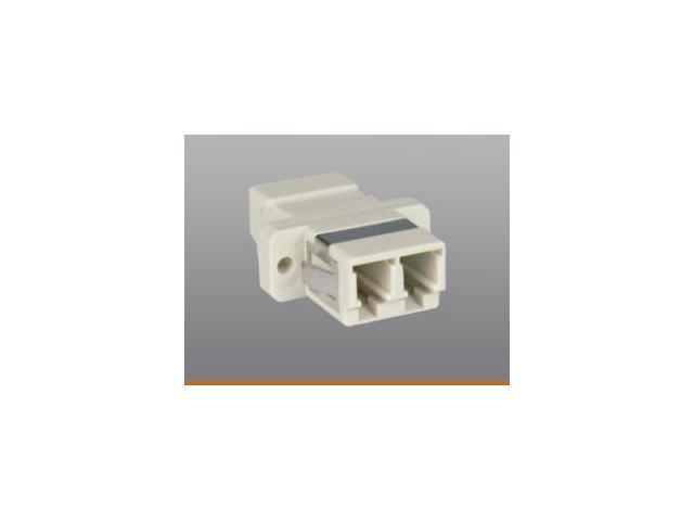 Tripp Lite N455-000 Fiber Optic Cable Coupler, LC LC, Duplex Multimode