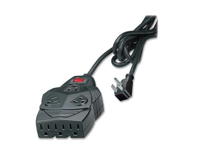 Fellowes 99091 6 Feet 8 Outlets 1460 joules Mighty Surge Protector with Phone Protection