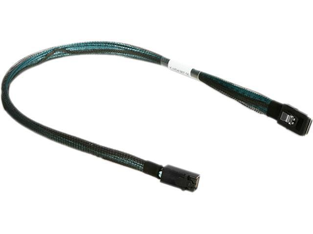 iStarUSA K-HD4387-50 1.64 ft. HD miniSAS SFF-8643 to miniSAS SFF-8087 50 cm Cable