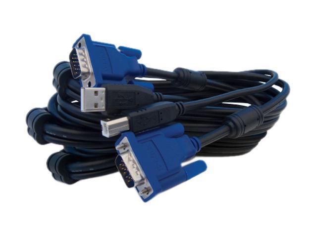 D-Link 10 ft. 2 in 1 USB KVM Cable DKVM-CU3