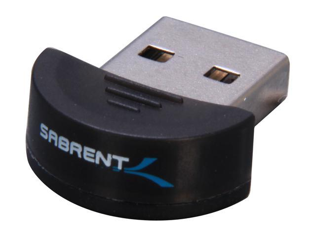 SABRENT BT-USBT Micro Wireless Bluetooth USB 2.0 Dongle