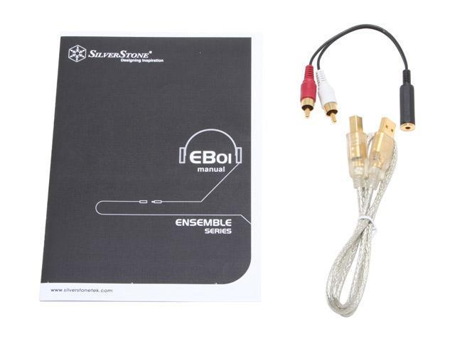 Silverstone EB01-S Premiun USB digital to analog converter