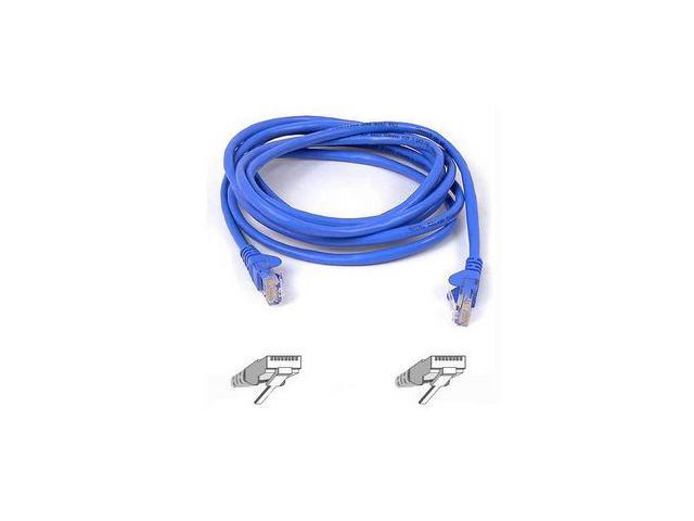 BELKIN A3L850-07BLUS-6 7 ft. Cat 5E Blue FastCAT Cat5e Patch Cable