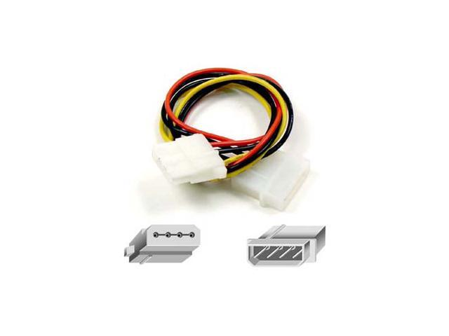 "Belkin F2N504-01 12"" Disk Drive Power Extension Cord"