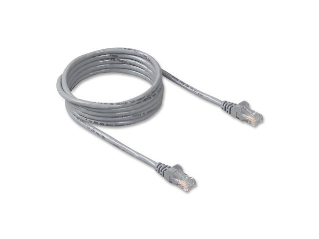 BELKIN A3L791-50-S 50 ft. Cat 5E Gray Cat5e Network Cable