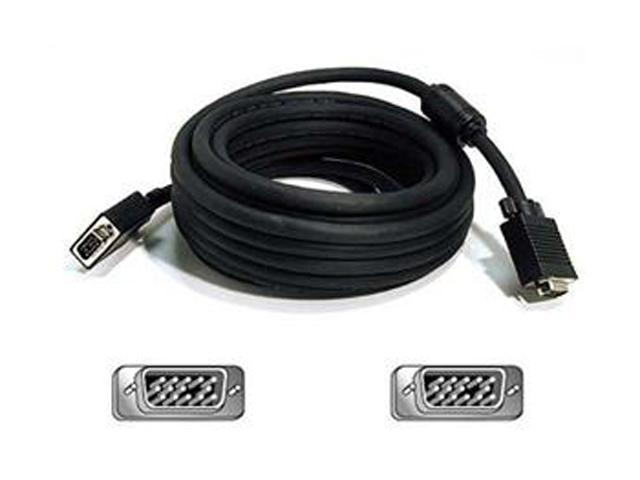 Belkin A3H982-40 40 ft. Pro Series VGA/SVGA Monitor Replacement HD-15 Cable - M/M