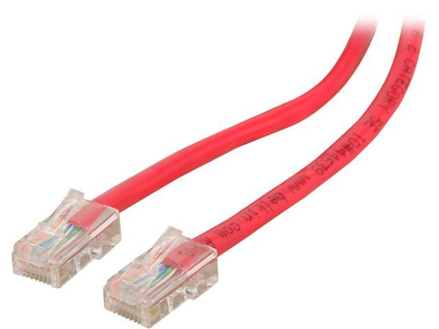 BELKIN A3L791-14-RED 14 ft. Cat 5E Red Patch Cable