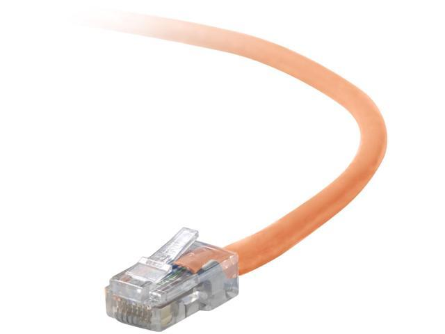 Belkin A3L791-04-ORG-S 4 ft. Cat 5E Orange Patch Cable