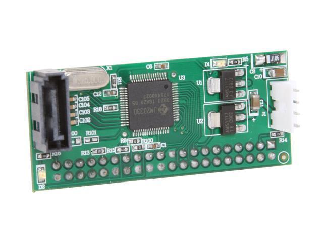 SYBA SY-ADA40011 SATA to IDE Adapter, Convert PATA Devices to SATA Port, RoHS.