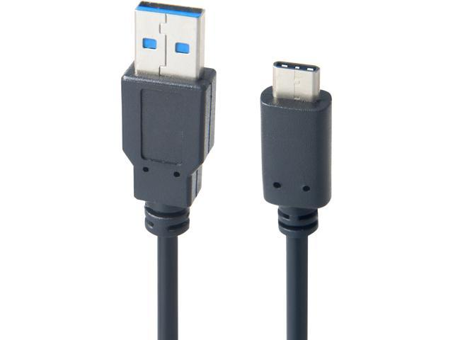 Link Depot LD-USB3AC-3BK 3 ft. Black USB TYPE-C TO USB3.0 Cable