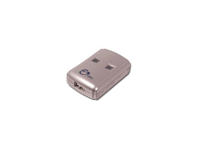 SIIG JU-SW2112-S2 USB 2.0 Switch 2-to-1