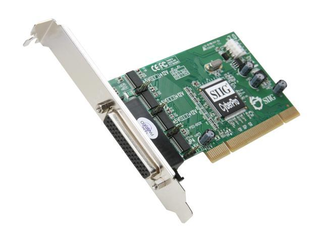 SIIG DP Quartet Serial 550 PCI Model JJ-P04621-S7