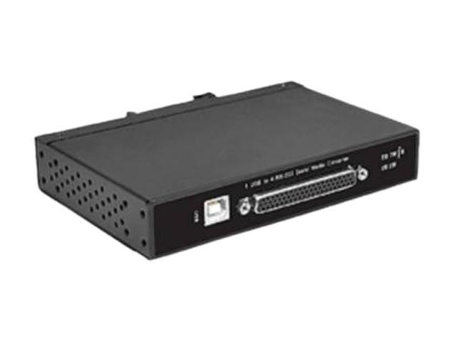 SIIG ID-SC0G11-S1 CyberX Industrial Rugged 4-port RS-232 USB to Serial Converter - Wide Temperature