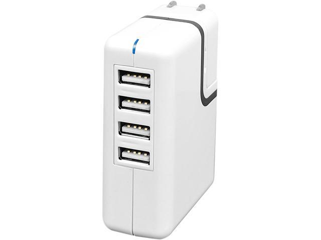 SIIG AC-PW0A12-S1 2A USB Power Adapter – 4-Port