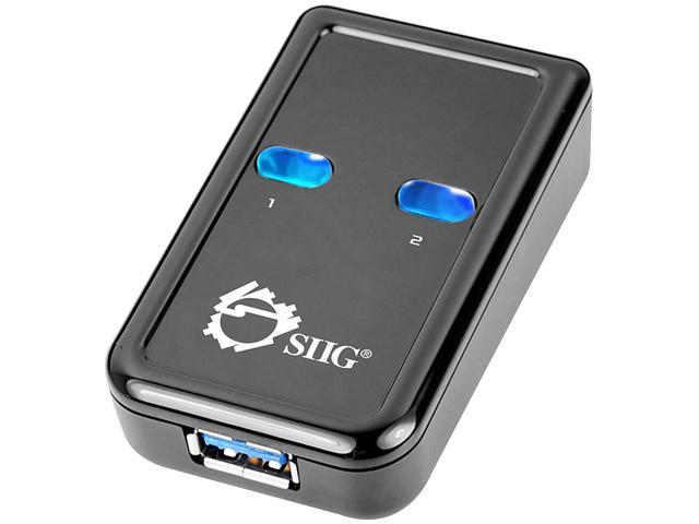 SIIG JU-SW0012-S1 USB 3.0 Switch 2-to-1