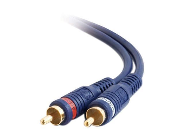C2G 13034 12 ft. VELOCITY RCA TYPE AUDIO INTERCONNECT M-M