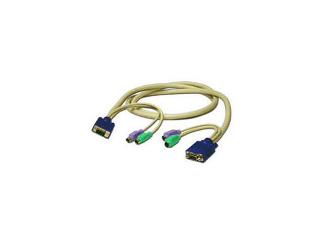 C2G 30 ft. 3-in-1 SXGA Desktop Extension Cable 24745