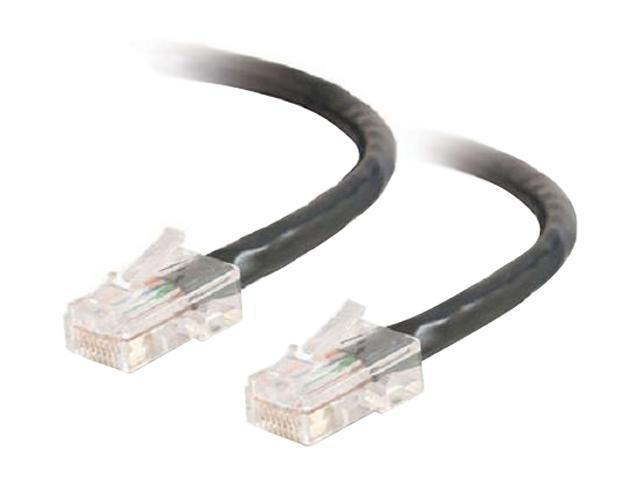 C2G 22683 5 ft. Cat 5E Black Patch Network Cable