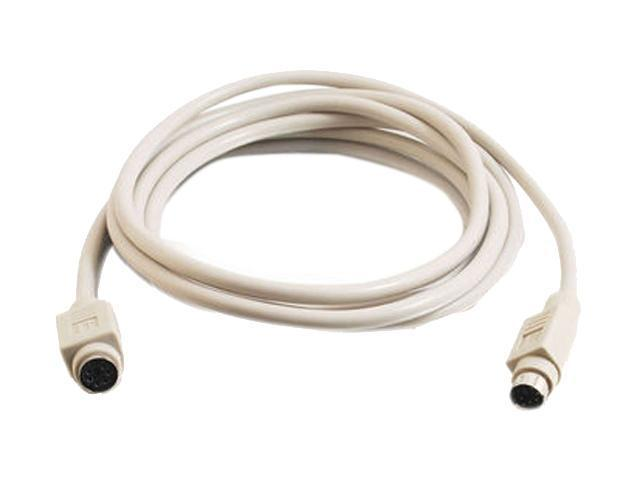 Cables To Go Model 04999 10 ft. PS/2 M/F Keyboard/Mouse Extension Cable M-F