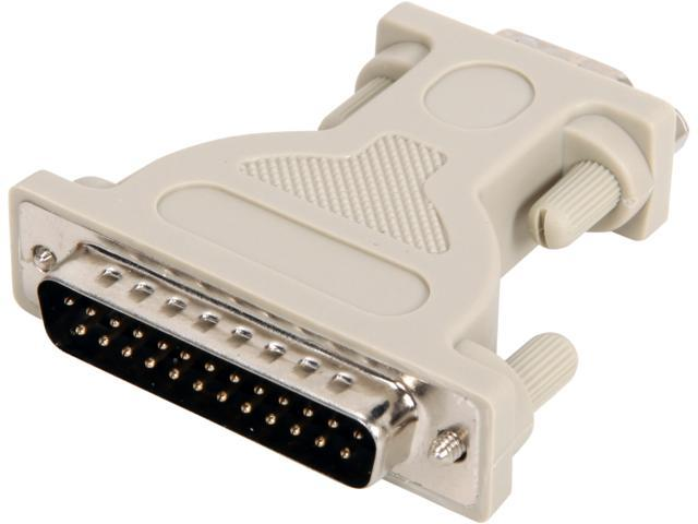 C2G 02450 DB9 Male to DB25 Male Serial Adapter