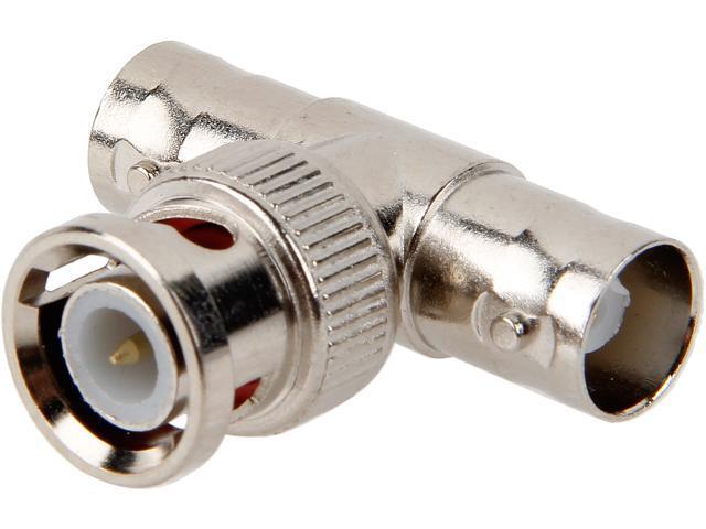 C2G 02047 BNC F/M/F T-Adapter